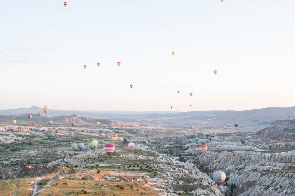 Army hot air ballooons cappadocia