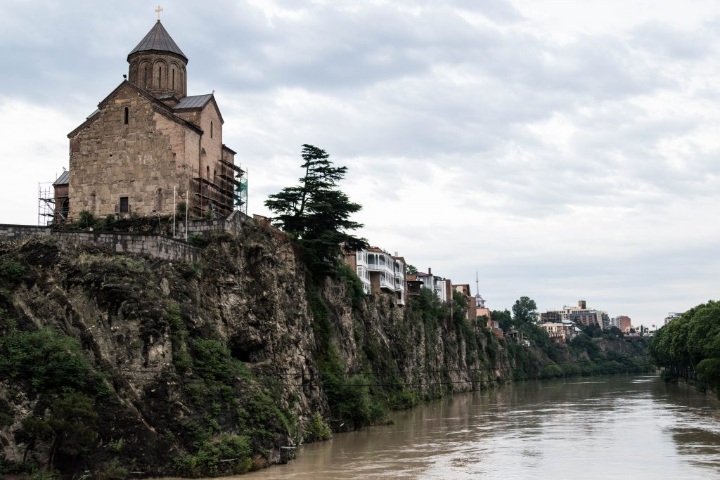 Even in lively Tbilisi you can experience the heritage of hundreds of years.