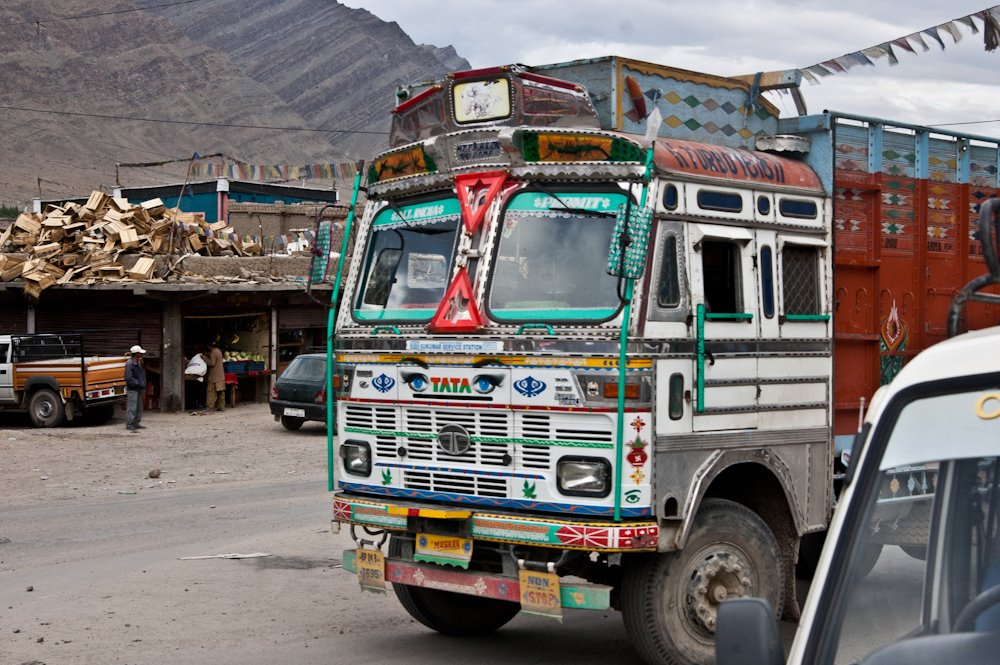 Indian Tata truck