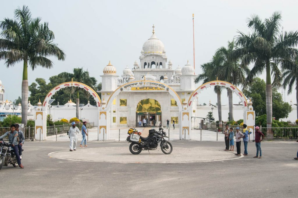 India Temple motorcycle
