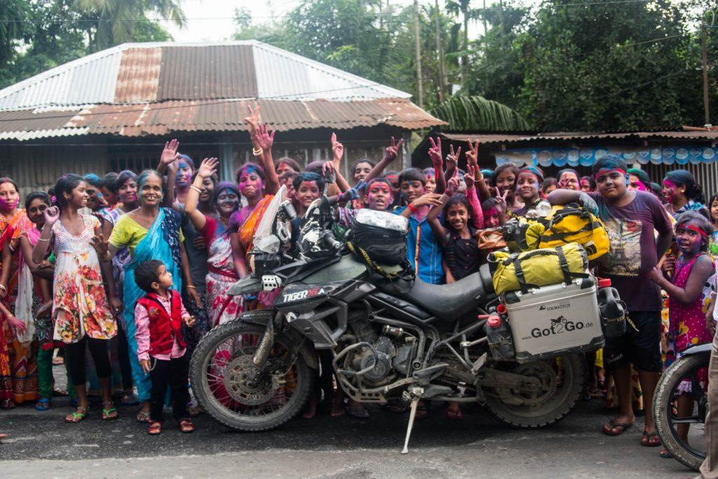 India locals