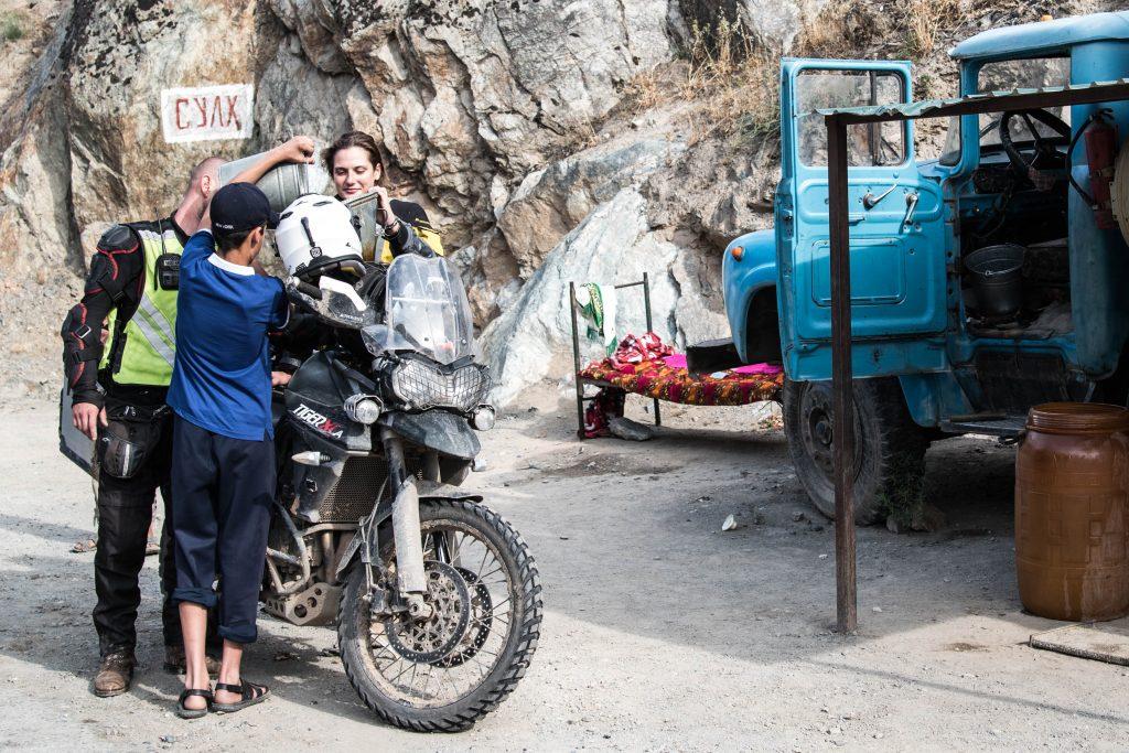 Gas Station Pamir Highway