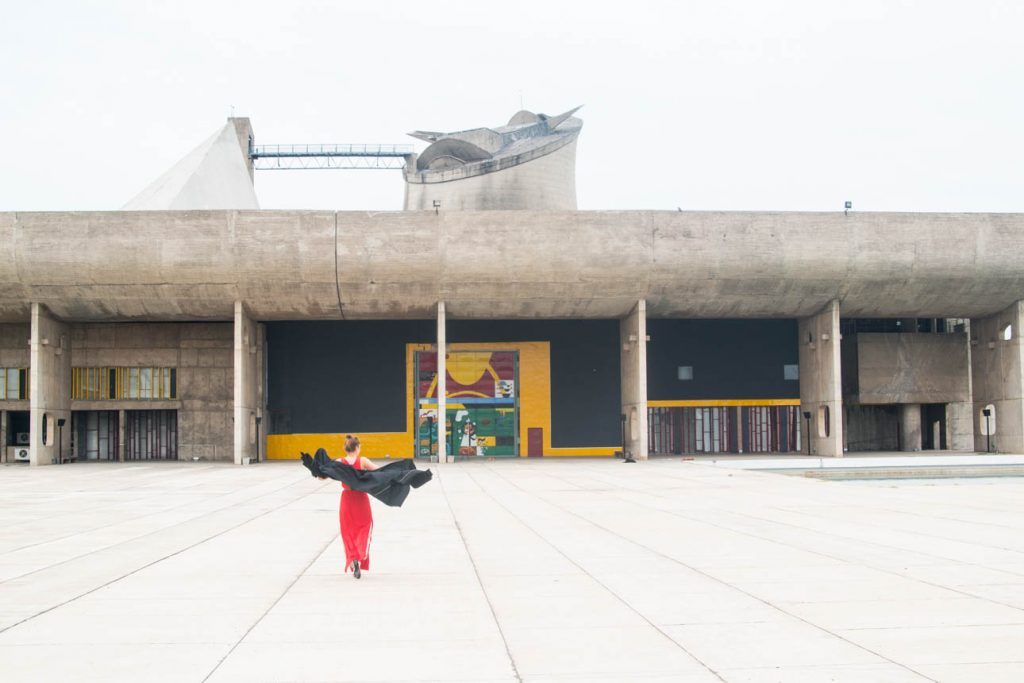 Chandigarh was planned by architect Le Corbusier – visiting the Capitol Complex was always a dream of mine.